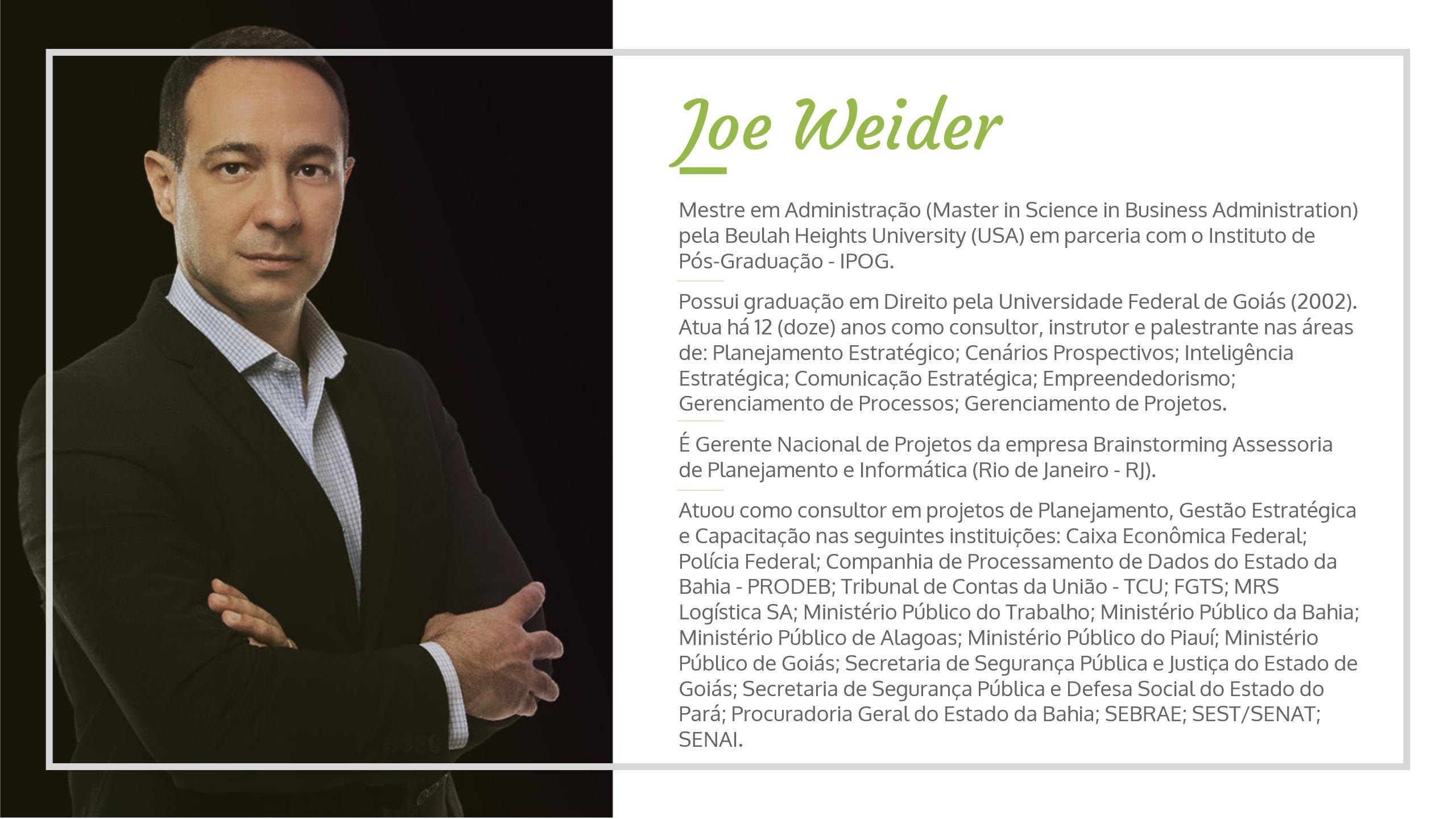 JoeWeider